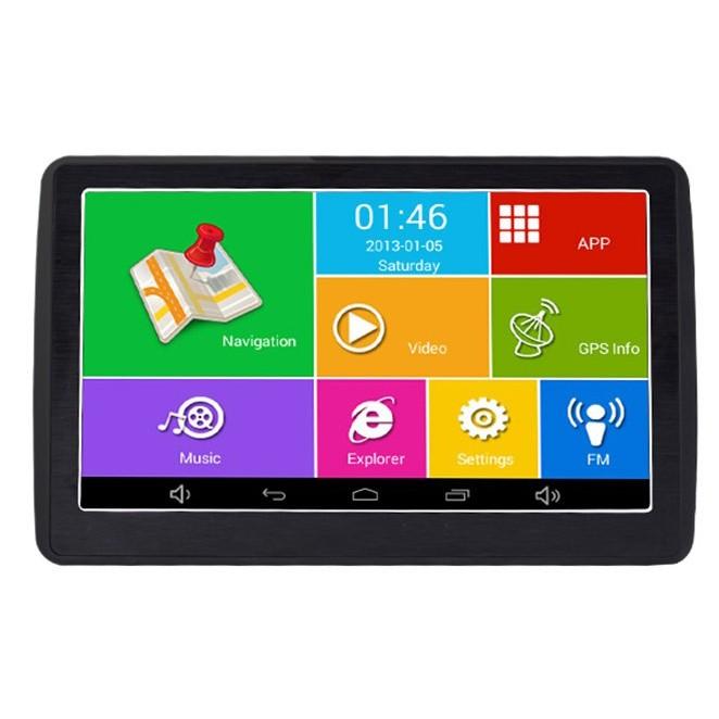 "Navigator GPS Auto Techstar M9X cu Android OS tip Tableta cu 512 RAM Wifi Display 7 HD Capacitiv"""