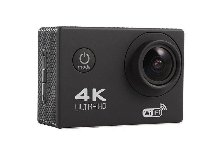 Camera Sport Actioncam F60 Ultra Hd 4k Black
