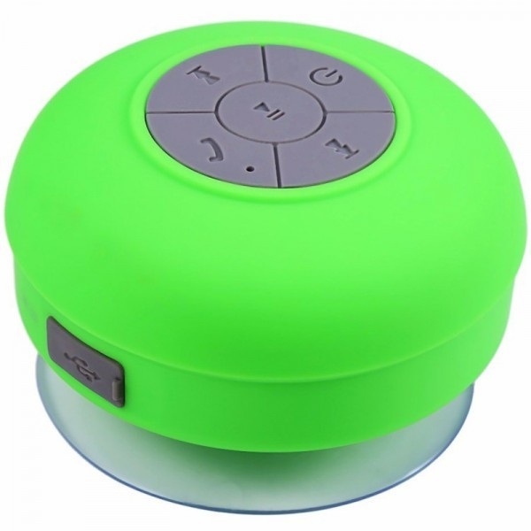 Boxa Portabila Bluetooth Iuni Df16, 3w, Rezistenta La Stropi De Apa, Usb, Verde