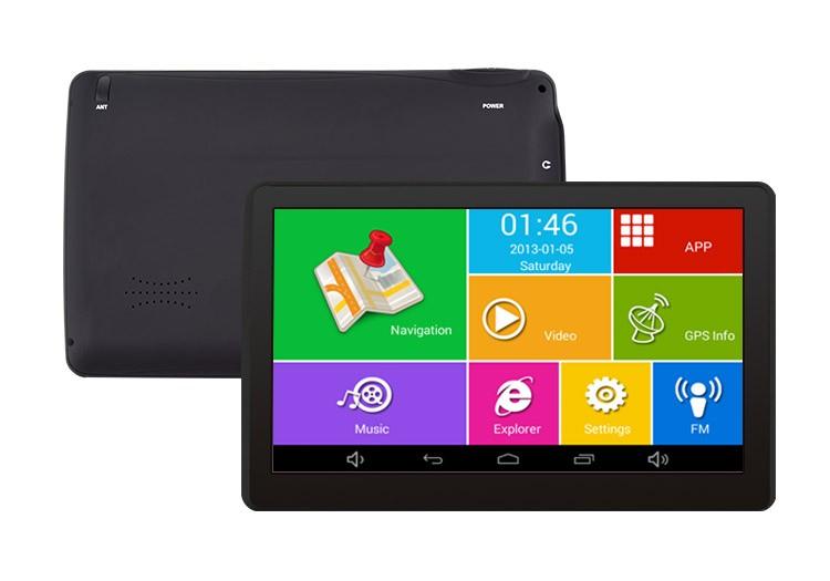 Gps Auto Techstar M9x Cu Android Tableta 512ram Di