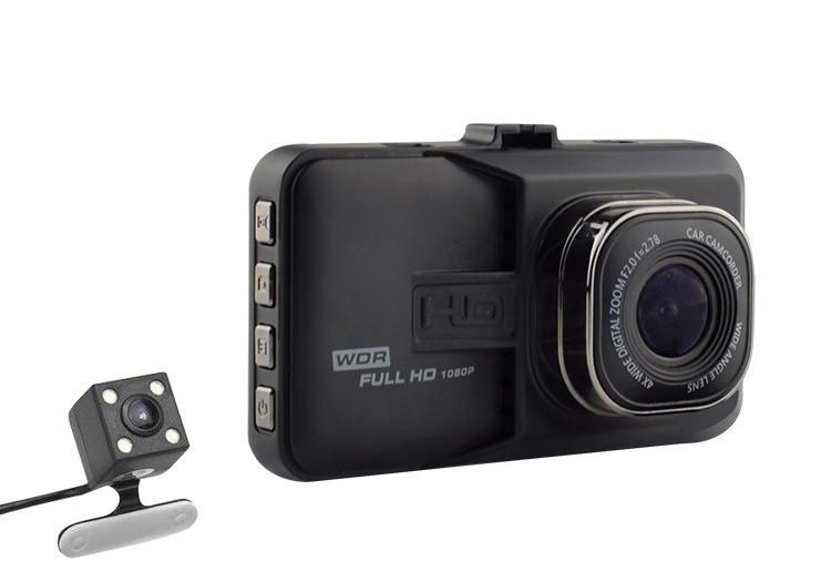 Camera Video Auto Dubla Novatek T636 Fullhd Cu Fun