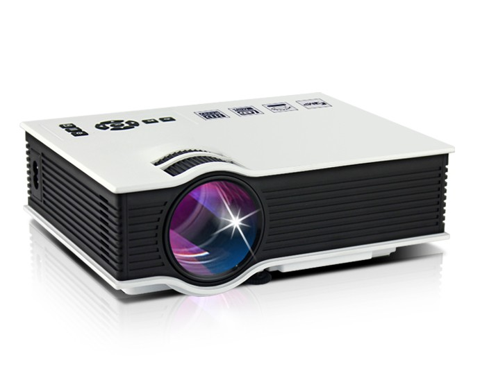 Videoproiector Led Techstar Bt400 White Compatibil Hdmi  Usb Si Sd