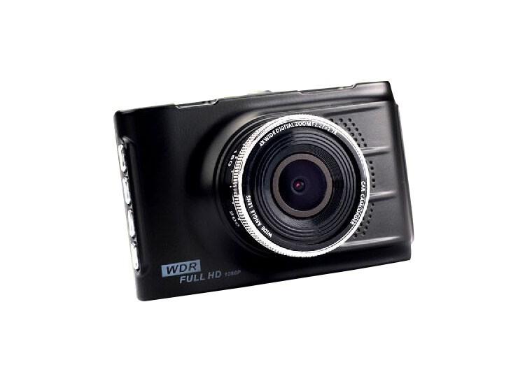Camera Video Auto Novatek T612 Black Fullhd Displa