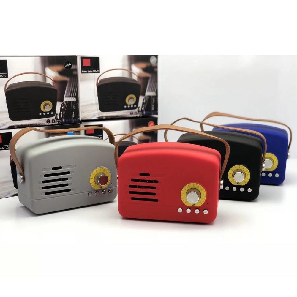 Mini boxa portabila wireless Retro LQ-01