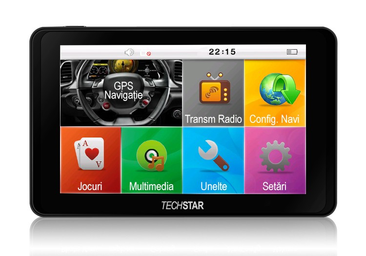 Gps Auto Techstar Gotrack 5 Hd Resigilat