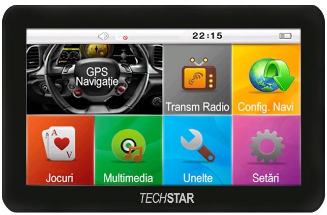 Gps Auto Techstar Basic 4.3 Resigilat