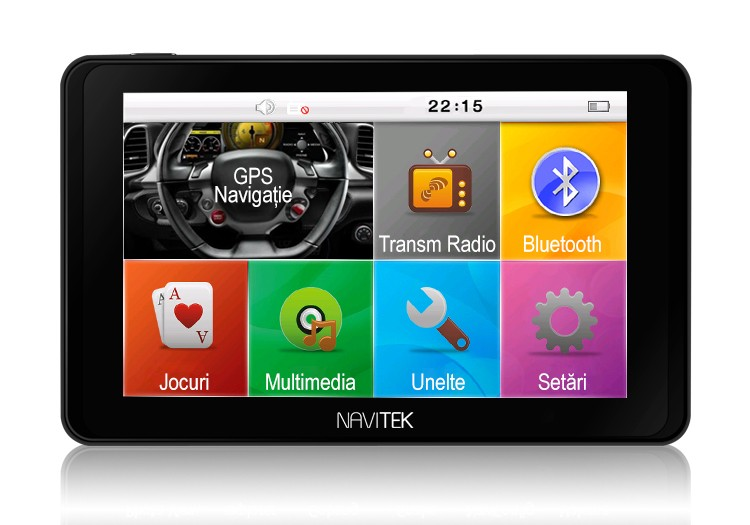 Gps Auto Navitek Gotrack 5 Inchi Cu Bluetooth Resigilat