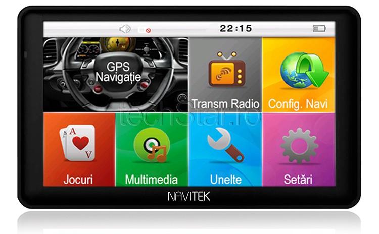 GPS Auto Navitek Premium+ 7 HD 256Ram