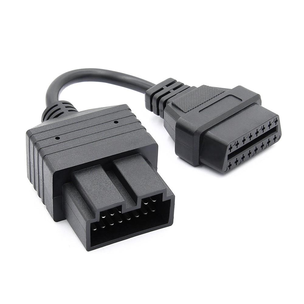 Cablu Adaptor Auto Kia, 20 Pin La Obd2 16 Pin
