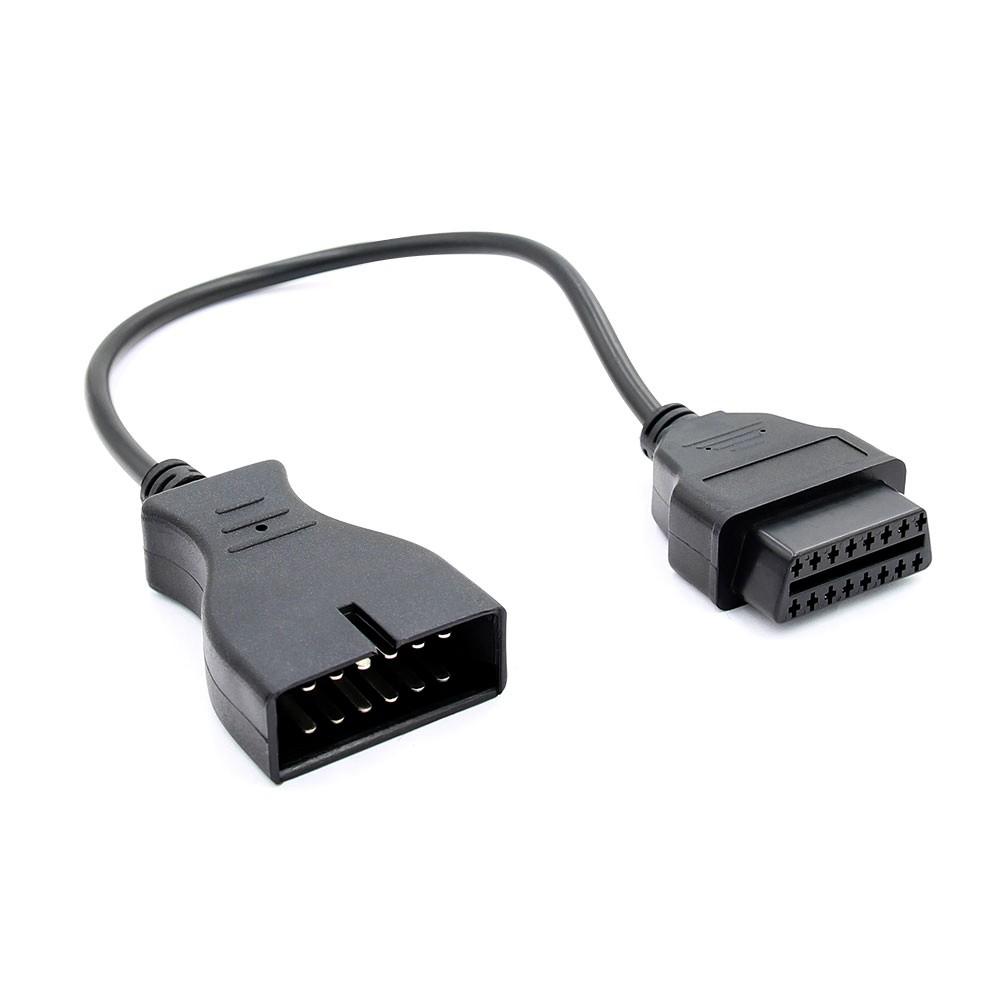 Cablu Adaptor Auto Gm, 12 Pin La Obd2 16 Pin