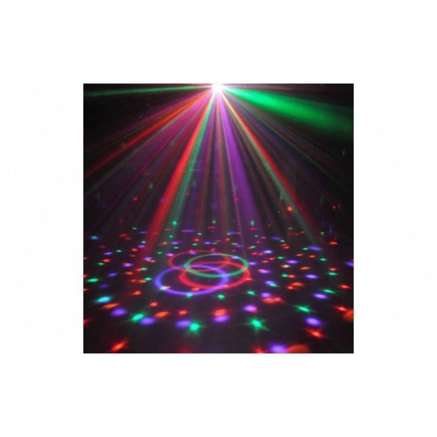 Glob disco cu functie USB - pentru redare MP3 si boxe incorporat