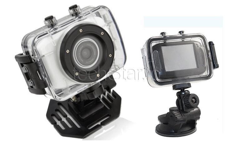 Camera Sport si Auto Camcorder HD cu Touchscreen & Waterproof thumbnail