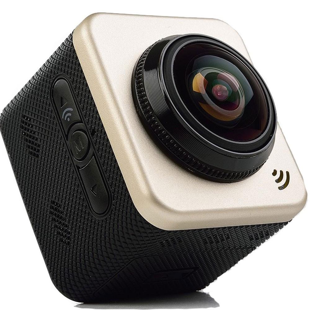 Camera Sport Iuni Dare Cube360s Wifi, 1080p, 360 Grade, Panoramic, Vr Video