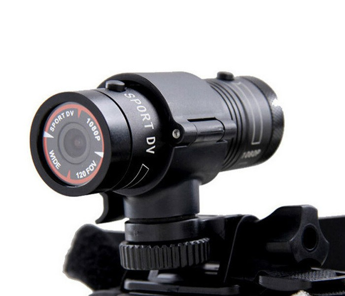 Camera Sport Action Cam Mini F9 FullHD 5MP din Aluminium Focus Fix thumbnail