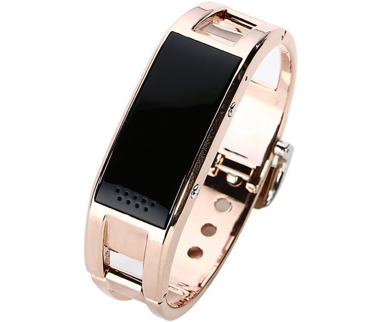 Bratara Smartband Fitness Bluetooth D8 Gold