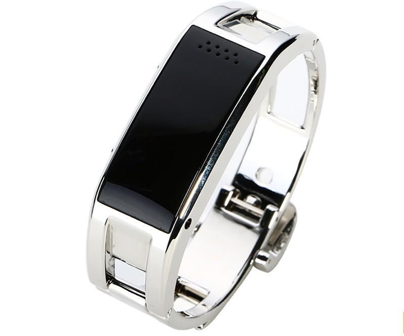 Bratara Fitness Smartband Bluetooth D8 Argintiu